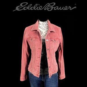 EDFIE BAUER- Trucker Style Corduroy women's jacket